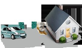 sustav daljinskog očitavanja za očitavanje iz automobila